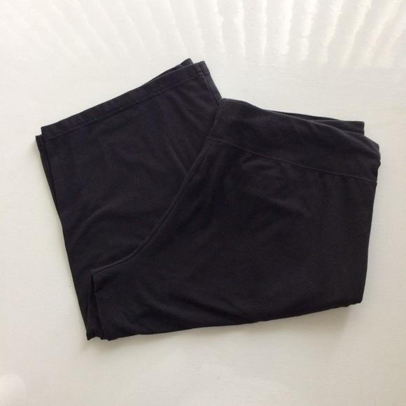 Danskin Now Pants - Danskin Now Black Shorts  Size 16-18